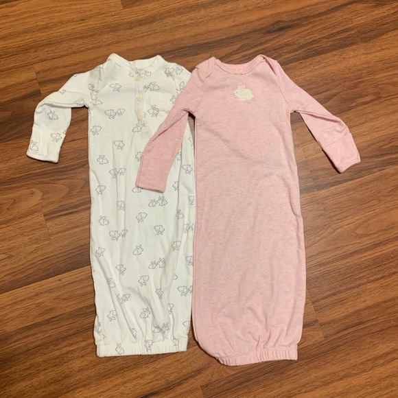 6f5d510a2 Carter's One Pieces | Baby Girl Sleeper Gown Bundle | Poshmark